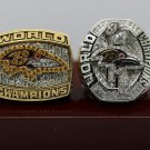 2000 2012 Baltimore Ravens super bowl championship rings size 8-14 US with wooden box