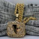 1998 Atlanta Falcons NFC National Football Championship Pendant Necklace Gift