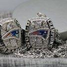 2016 New England Patriots LI super bowl championship ring & Pendant Necklace