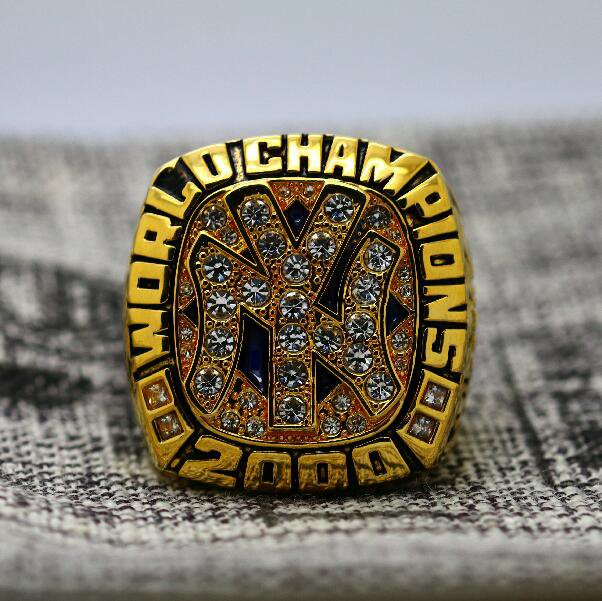 2000 New York Yankees World Series championship ring size 8-14 US