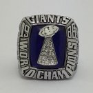 1986 New York Giants super bowl championship ring size 11 US