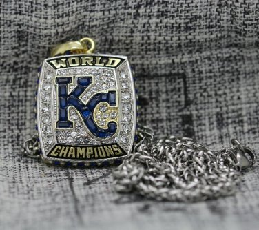 2015 Kansas City Royals World Series Championship Pendant Necklace Gift 002
