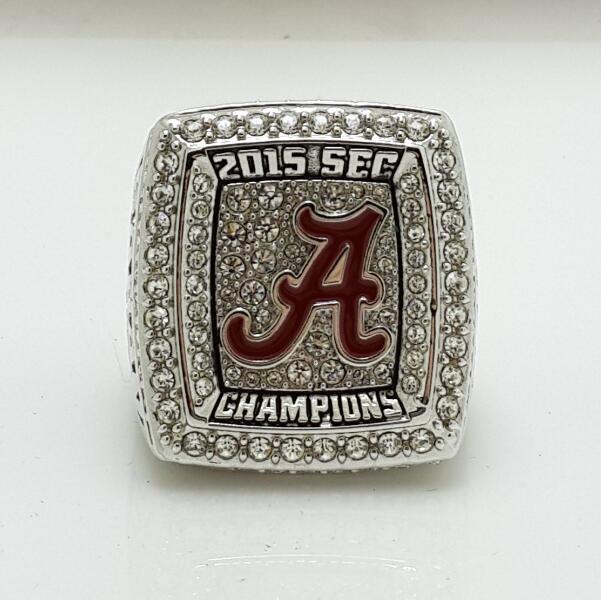 2015 Alabama Crimson Tide SEC Football National NCAA Championship Ring 8-14S