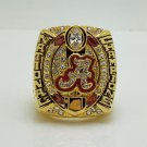 2015 2016 Alabama Crimson Tide Cotton Bowl Football National NCAA Championship Ring 8-14S
