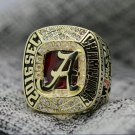 2016 Alabama Crimson Tide SEC National Championship Solid Ring 8-14S