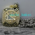 2017 Golden State Warriors Basketball Championship Pendant Necklace Gift