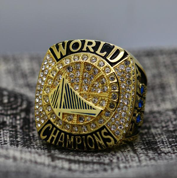 Golden State Warriors 2017 Basketball Championship ring DURANT size 8-14 US