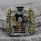 2017 NHL Pittsburgh Penguins stanley Cup Championship ring CROSBY size 8-14 US