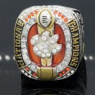 2016 Clemson Tigers NCAA National Championship Ring Size 11 Solid Back
