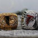 1998 2016 Atlanta Falcons NFC Championship Rings 8-14 Size solid
