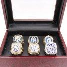 1977 1996 1998 1999 2000 2009 New York Yankees World Championship rings Size 11 + Box