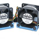 9G0612P1M041  Two DELL San Ace Fans  U8679  with 745 Brackets