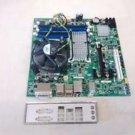 Intel DG43GT socket 775 motherboard + Quad processor, support disk and hardware, AA e62768-300