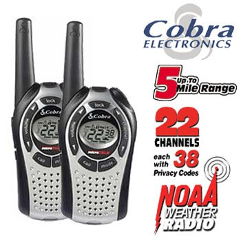 2-WAY 5-MILE RANGE WEATHER RADIOS