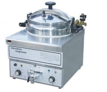 Pressure Fryer in Commercial Grade - Home Cooking Chicken w/ 44 lb/20L