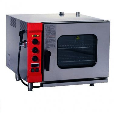 Micro Combi Oven Steamer 6 Trays (70mm) - Electric Combination Convection Oven