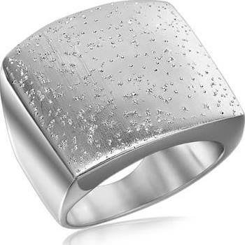 Stardust Sterling Silver Flat Ring  AGFR596