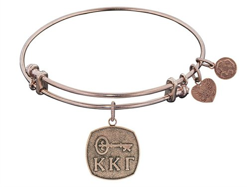 Angelica Jewelry collection Kappa Kappa Gamma Expandable Bangle - Style No. PGEL1233