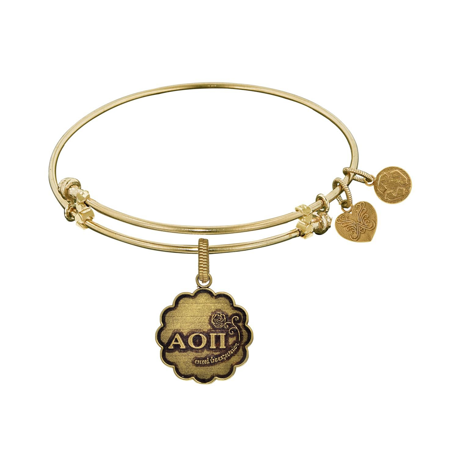 Angelica jewelry Collection Alpha Omicron Pi bracelet