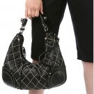 Juicy Couture Princess Quilt Leather Hobo Bag