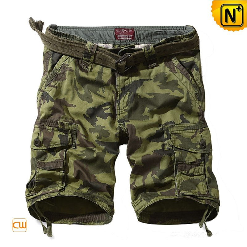 Army Camouflage Cargo Shorts for Men CW140161