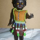 Vintage Hongkong Made Indian Hard Plastic Boy Doll 7""
