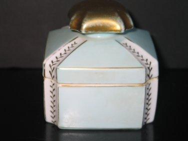Vintage Parisienne Porcelain # 5275 Vanity Trinket Jewelry Box