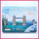 Tower Bridge (UK) - Paper craft 3D puzzle DIY model for edu student gift