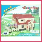 Wooden Rauch house - 3D puzzle jigsaw DIY craft model for student gift