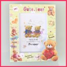 Cutie Love Bear Plastic Photo Frame for LOVE with at 3D picture frame PF07