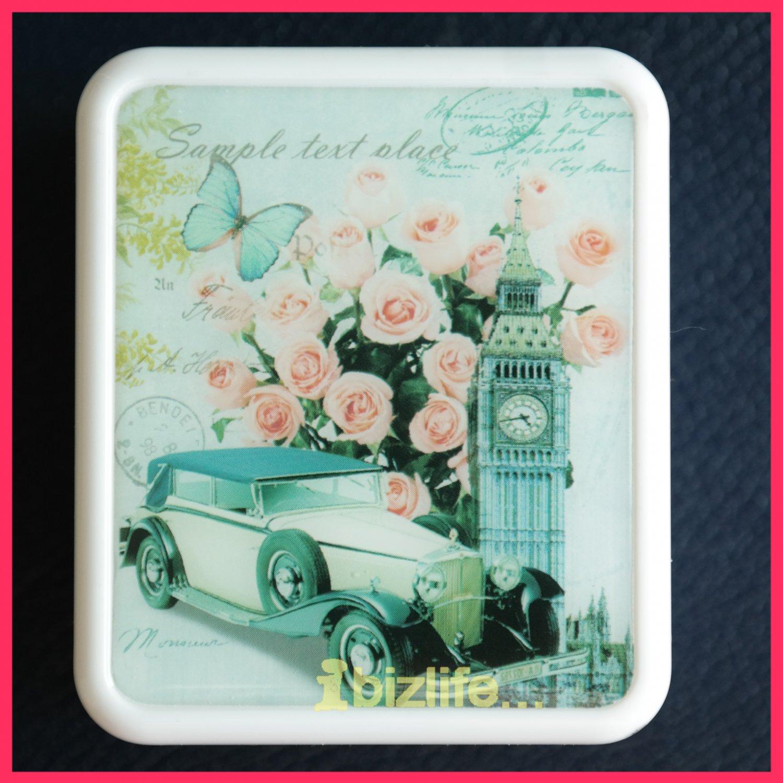 "Mini London Romantic Desktop Music Box / Tune Box play ""Castle in the Sky"" (MB03)"