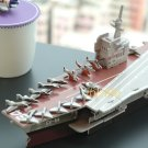 Aircraft Carrier - PAPER 3D puzzle DIY jigsaw model for Easter edu kid gift(pc-26)