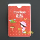 Fashion 2-sides pocket for cards with Cookys Girl Cycling (FP10)