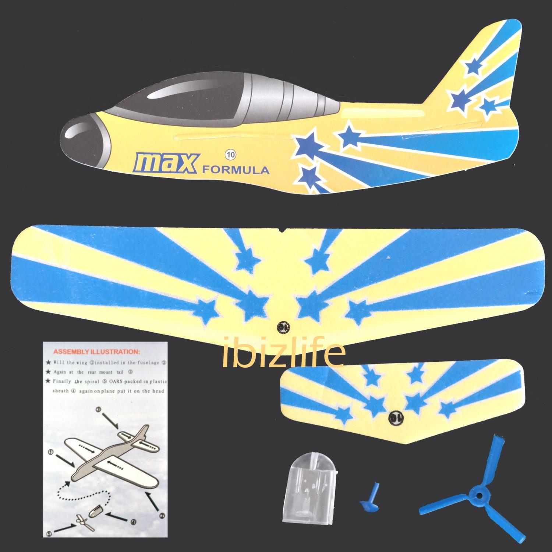 3D DIY Paper model flying pocket planes as gift for children and kids - Max   Formula (pc36)
