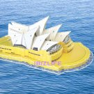 Sydney Opera House - Australia 3D Puzzle 58 pcs DIY Jigsaw model as gift (pc43)