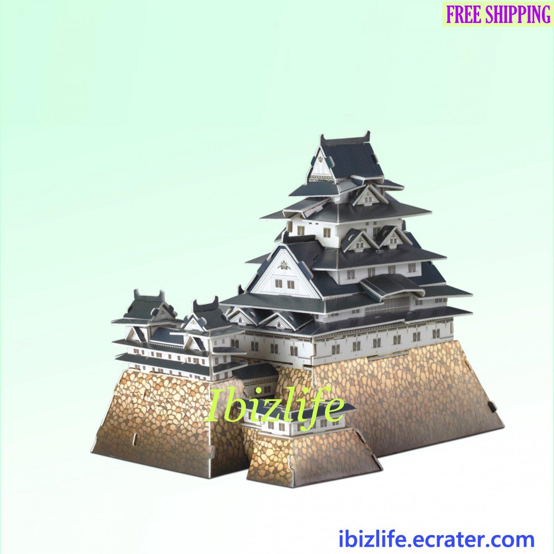 Himeji-Joo (Japan) - 3D Puzzle 89 pcs DIY Jigsaw model as gift (pc60)