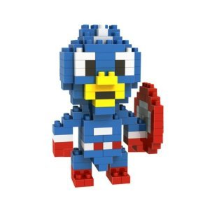 Captain America: Diamond Blocks Mini Bricks Building Blocks DIY Education gifts - 130 pcs(BB02)