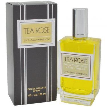 Tea Rose Perfume for women 4.0 Oz / 120 Ml EDT Spray