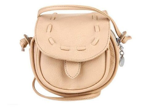 Small Handbag Baguette Satchel Shoulder Crossbody Handbag-Yellow