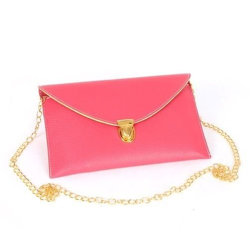 Stylish Chain Belt Envelope Clutch/Sholder Bag