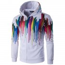 Mens Fashion 3D Multi Colorful Printing Sweatshirt