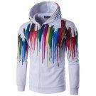 Mens Fashion 3D Multi Colorful Printing Sweatshirt