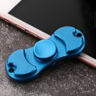 Rotating Fidget Hand ADHD Autism Fingertips Spinner Blue