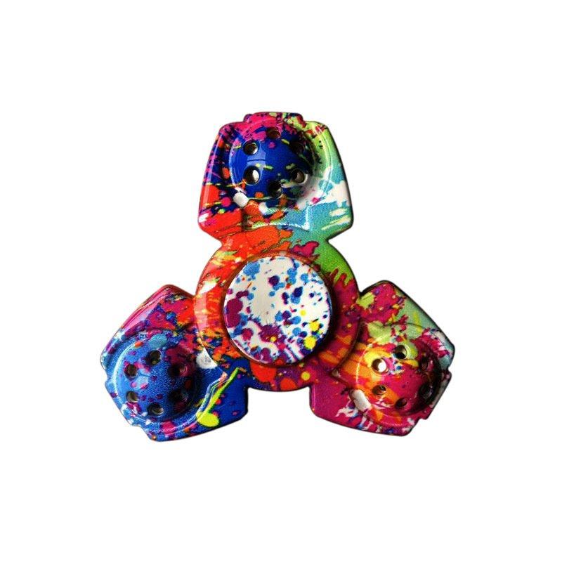 Multi-Shaped &Color Rotating Fidget Hand Spinner Multicolor