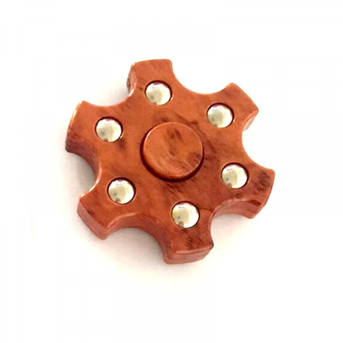 Multi-Shaped &Color Rotating Fidget Hand Spinner Orange