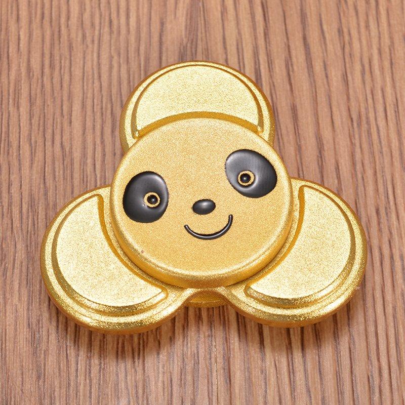 Animal Rotating Fidget Hand Spinner Gold