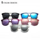 Women Polarized Glasses Fashion Cat Eye Metal Frame Outdoor Sunglasses Multi-Color Black