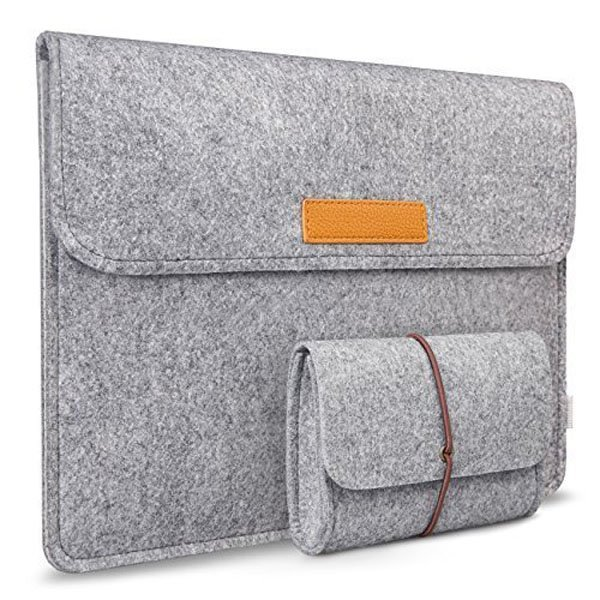 Gray 11 inch MacBook Surface iPad IPhone Ultrabook Netbook Protector Sleeve Carrying Case