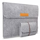 Gray 13 inch MacBook Surface iPad IPhone Ultrabook Netbook Protector Sleeve Carrying Case