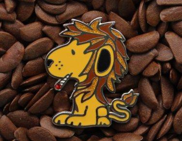 BHO Snoopy Peanuts Pins Smokes Marijuana Snoop Dogg Lion Ganja Weed Pin